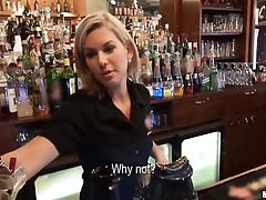 Who wanted to penetrate a barmaid?