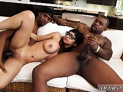 Nubile double penetration thick tits My Huge Black Threesome