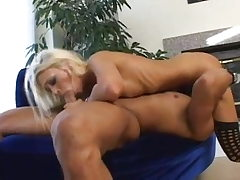 Skinny Blonde Nubile gives a nice Blowjob and have superb sex