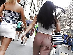following Fabulous butt in sexy pants  Voyeur Candid booty