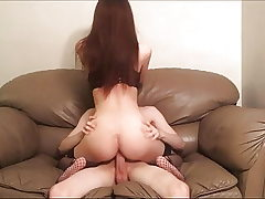 Fucking Smacking Rough Lovemaking on the Bed