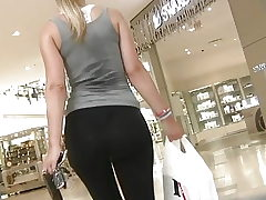 girl ass leggins