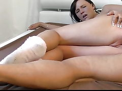 18yo Stepdaughter Likes Step Dad's Cock in Her Backside