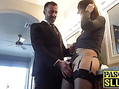 Subslut Sailor Luna fingerblasted and stretched with manmeat