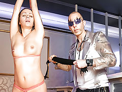 LETSDOEIT - Flagellating and Bondage Smacking for German Cougar
