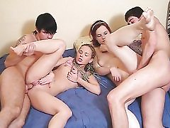 School lads fuck like adult movie starlets
